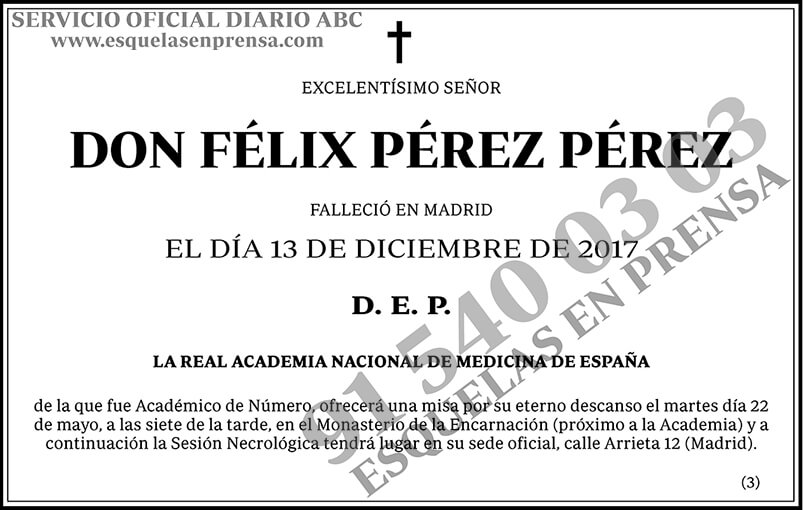 Félix Pérez Pérez